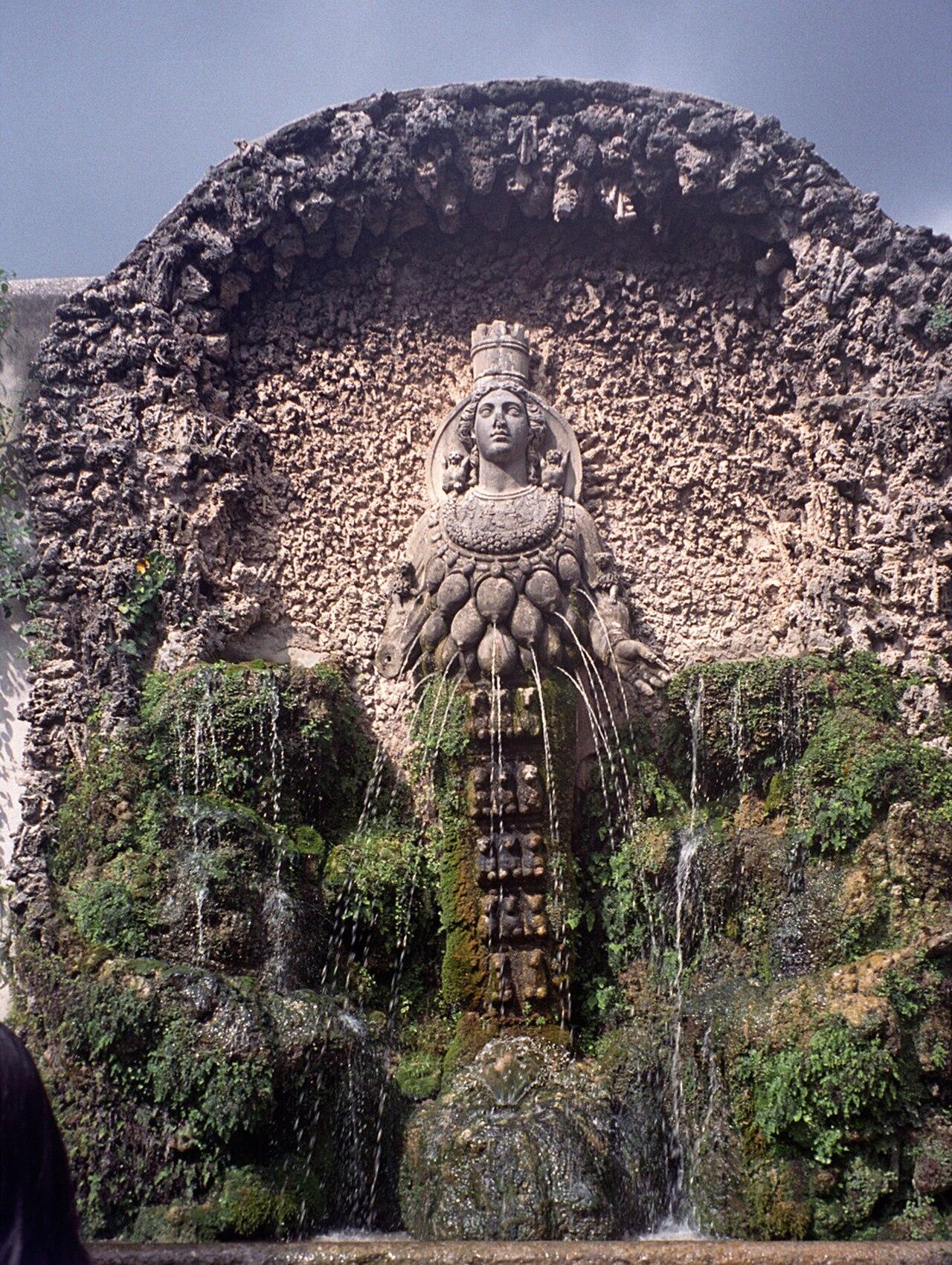 Fontana dell'Abbondanza Fontanna Artemidy Efeskiej