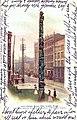 Tlingit totem pole, Pioneer Square, Seattle, ca 1903 (SEATTLE 2190).jpg