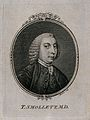 Tobias George Smollett. Line engraving by F. Aliamet, 1757. Wellcome V0005503EL.jpg