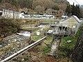 Togawa power station (Nagano) Weir 2.jpg