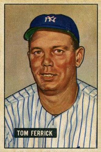 Tom Ferrick (baseball) - Image: Tom Ferrick