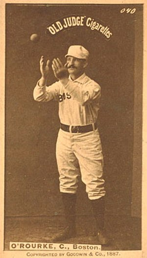 Tom O'Rourke (baseball) - Image: Tom O'Rourke (baseball)