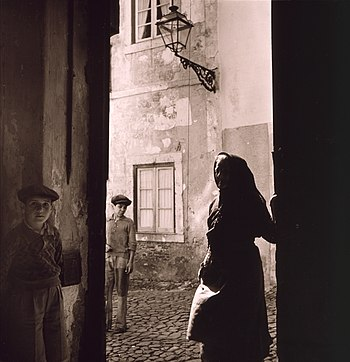 Alfama, Lisbon, c. 1946