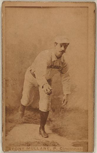Tony Mullane - Image: Tony Mullane baseball card