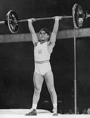 Tony Terlazzo - Terlazzo at the 1936 Olympics