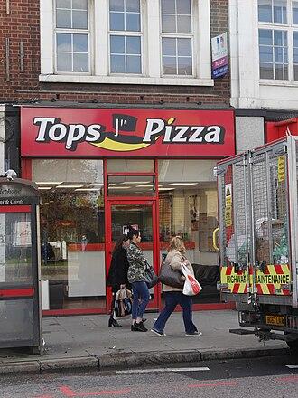 Tops Pizza - Tops Pizza, Wandsworth High Street, London