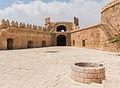 Torre de la Polvora, courtyard, well, Alcazaba, Almeria, Spain.jpg