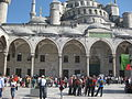 Tourists visiting Sultan Ahmed Mosque 03.JPG