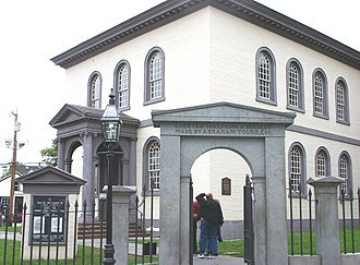 History of the Jews in the United States - Touro Synagogue, built in 1759 in Newport, Rhode Island, is America's oldest surviving synagogue.