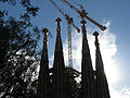 Towers of the Sagrada Família.jpg