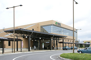 Toyosaka Station Railway station in Niigata, Japan