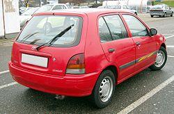 Toyota Starlet rear 20081218.jpg