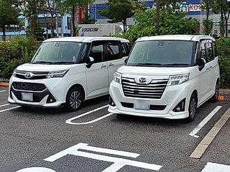 Daihatsu Thor - Image: Toyota tank m 900a and daihatsu thorcustom m 900s 1 f