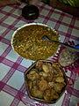 Traditional snacks of Bangladesh-Chotpoti and Fuchka, 2014.jpg