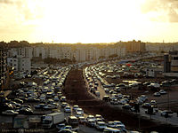 Traffic congestion in Al Bayda, Libya ..jpg