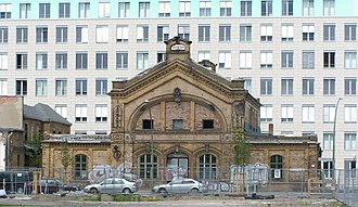 Berlin–Szczecin railway - Remains of the old Stettiner station