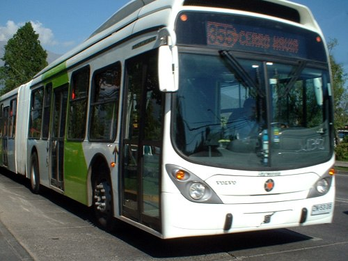 Transantiago bus articulado