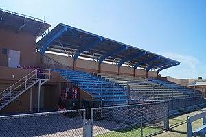 Trinidad Stadium - Image: Trinidad Stadium Aruba Stands 2