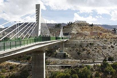 Cómo llegar a Puentes Trillizos en transporte público - Sobre el lugar