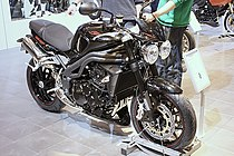 Speed Triple 1050 15th anniversary, een jubileummodel uit 2008