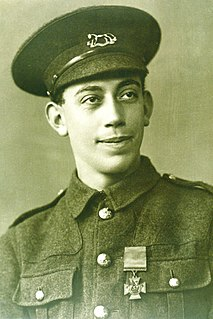 Fred Potts Recipient of the Victoria Cross