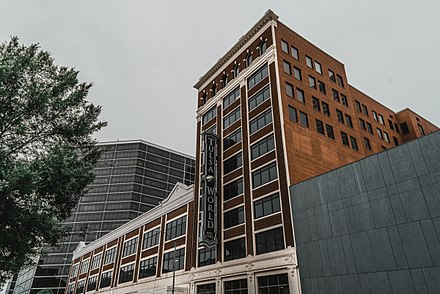 The Tulsa World operates primarily from its headquarters in downtown Tulsa. Tulsa World Office.jpg