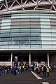 Turnstile entrance at the west end of Wembley Stadium - geograph.org.uk - 1863567.jpg