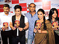 Tusshar Kapoor,Milan Luthria,Vidya Balan,Ekta Kapoor From The DVD launch of 'The Dirty Picture' (16).jpg