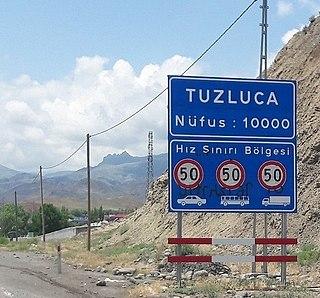Tuzluca Place in Iğdır, Turkey