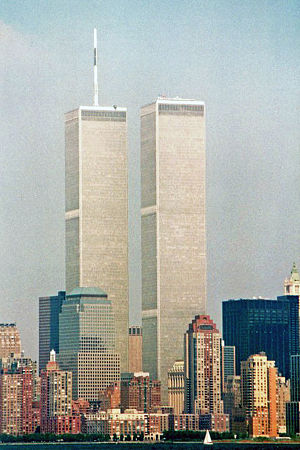 Interactive Brokers - Image: Twin Towers circa fall 1993
