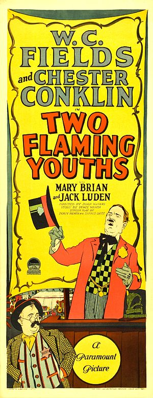 Two Flaming Youths - Film poster