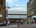 Tynecastle Stadium entrance, Gorgie Road - geograph.org.uk - 1436069.jpg