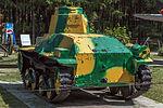 Type 95 Ha-Go in the Great Patriotic War Museum 5-jun-2014 Rear.jpg