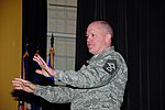 U.S. Air Force Command Chief Master Sgt. Christopher Muncy, command chief master sergeant of the Air National Guard, speaks to Airmen, with the 107th Airlift Wing, New York Air National Guard, at Niagara Falls 120509-Z-ZP861-533.jpg
