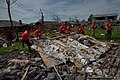 U.S. Airmen based at Sheppard Air Force Base, Texas, clean up debris June 8, 2013, in Moore, Okla 130608-F-ZB240-220.jpg
