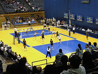 Pauley Pavilion - UCLA vs. USC volleyball 2008