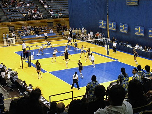 UCLA vs. USC in volleyball, 2008 UCLA USC Volleyball game 08.jpg