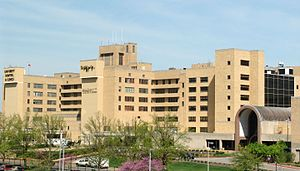 University of Missouri Hospital - Image: UHC from PG7