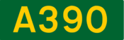 A390 road shield