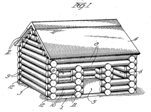 Lincoln Logs - Patent drawing