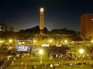 USC's Program Board sponsors Springfest, held annually in McCarthy Quad