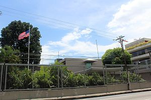 Foreign relations of Trinidad and Tobago - United States embassy in Port of Spain.