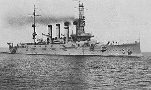 Tennessee-class cruiser - Image: USS Montana ACR13
