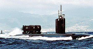 USS Charlotte (SSN-766) off the coast of Oahu