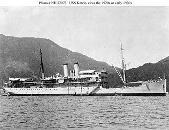USS Hancock (AP-3) - Image: USS Kittery (AK 2)