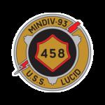 USS Lucid MSO-458 Logo.png