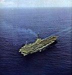 USS Princeton (CVS-37) underway at sea, circa in 1957.jpg