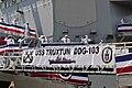 USS Truxtun (DDG 103) crew mans the rails during commissioning.jpg