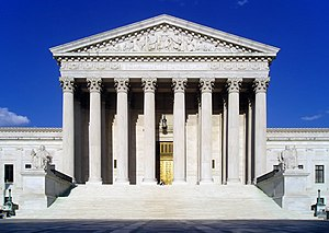 United States Supreme Court Building - Façade of the Supreme Court Building