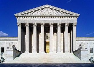 United States Supreme Court Building - Façade of the Supreme Court Building